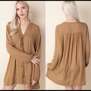 Dresses & Skirts - Pocket tunic dress.